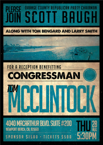 McClintock- Baugh Event Invite
